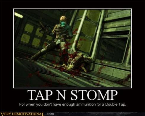 Stomp in the name of...
