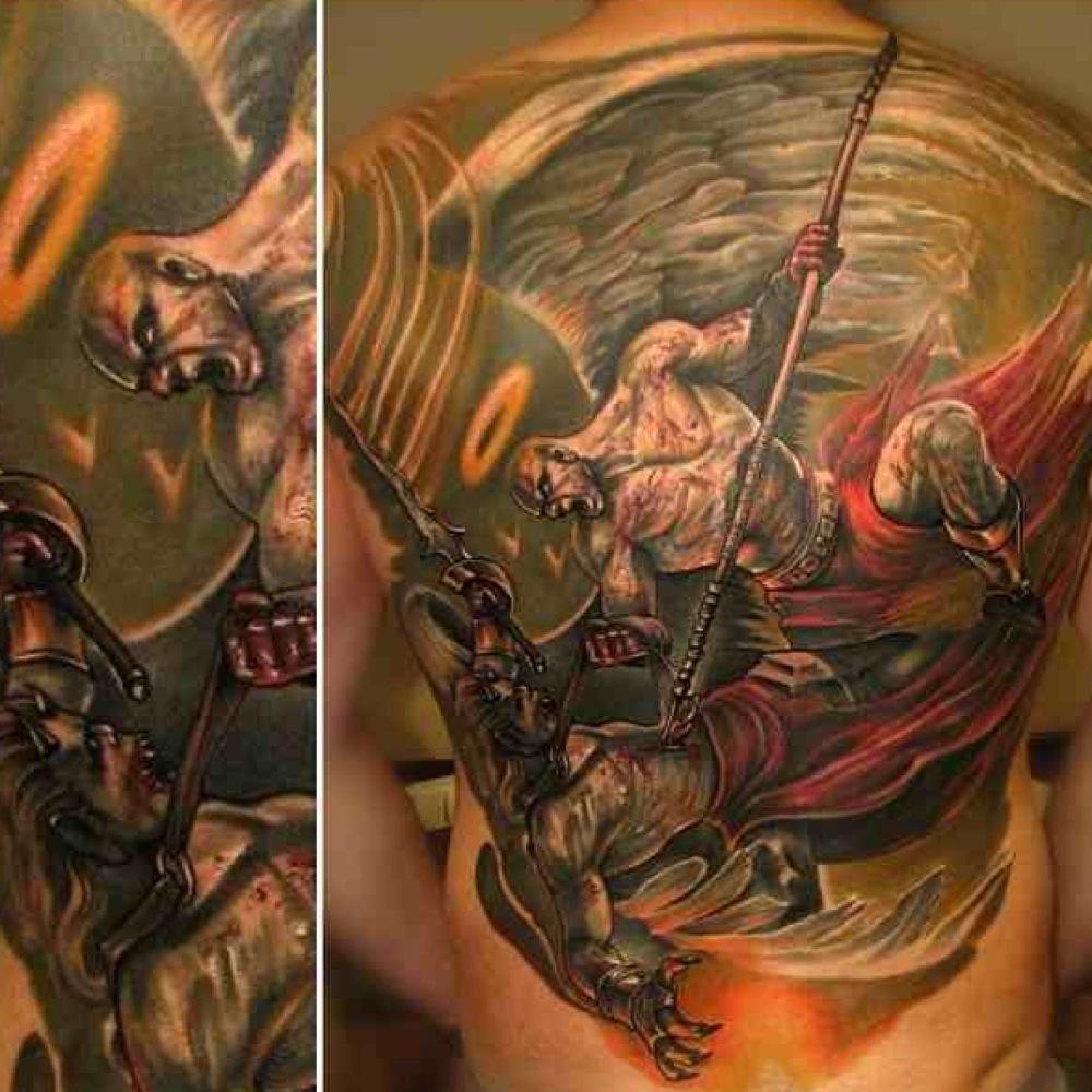 God of War Tattoo Designs