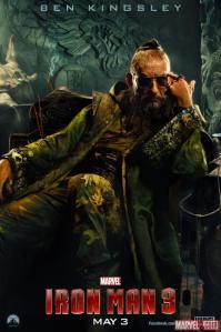 Ben Kingsley as the Mandarin